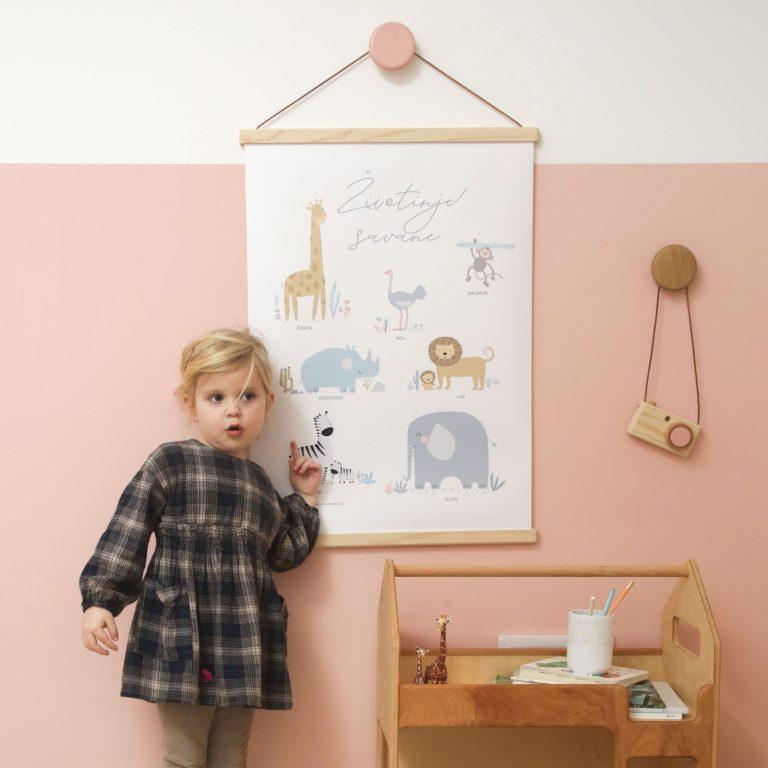 poster-za-decu-životinje-savane