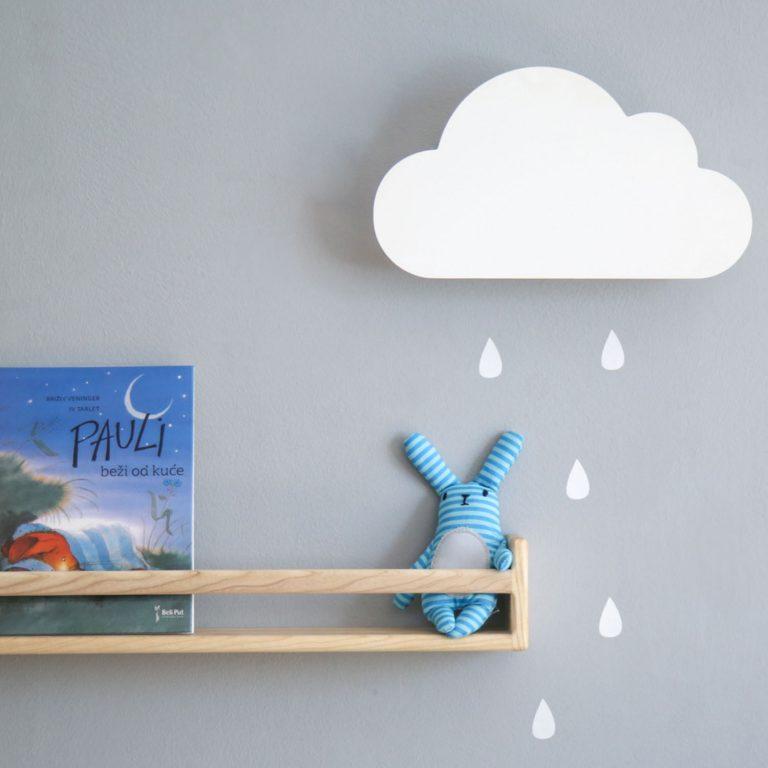 decija lampa oblak